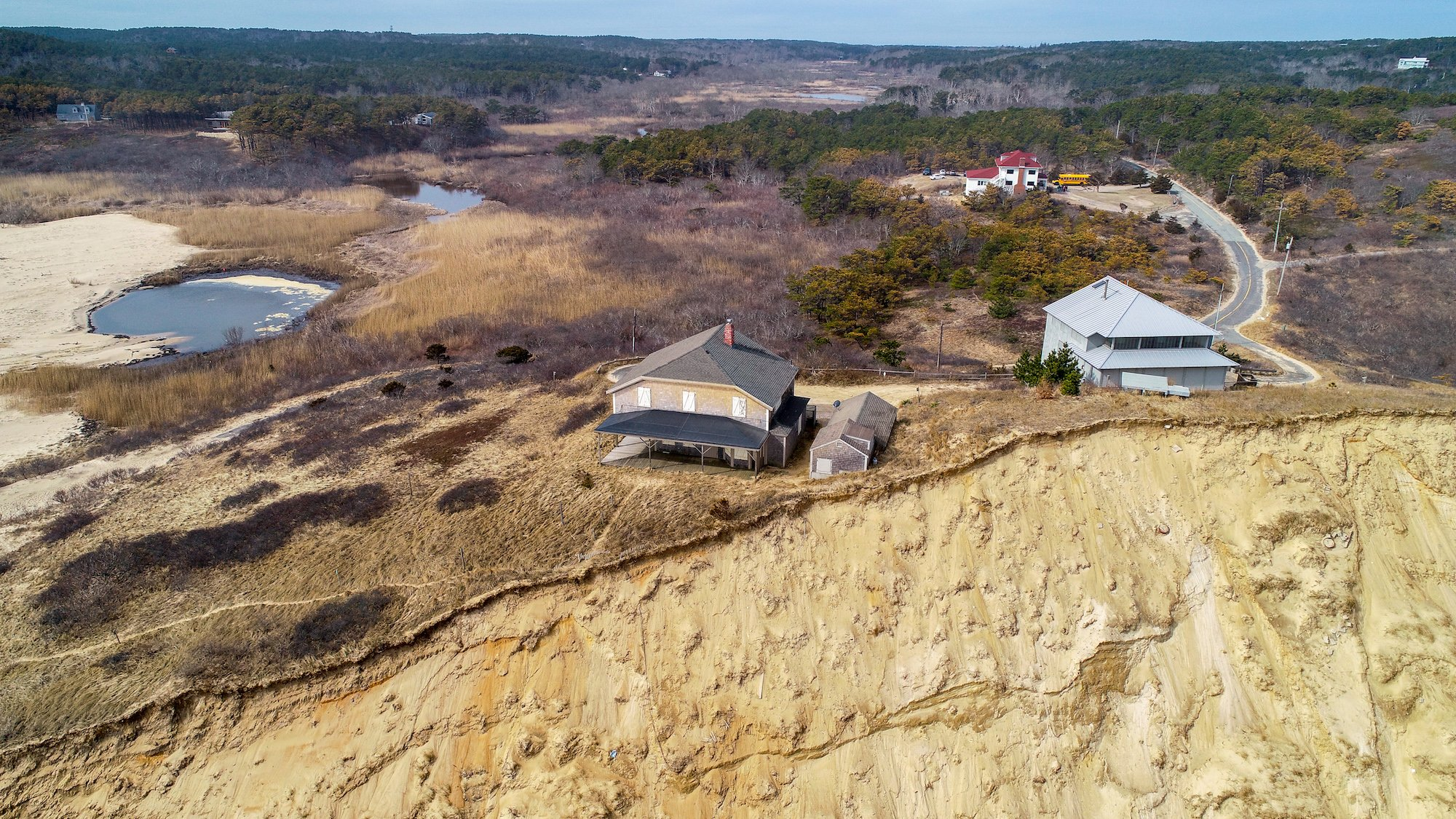 Drone mapping, Truro, MA coastal erosion monitoring, ARE UAS Services